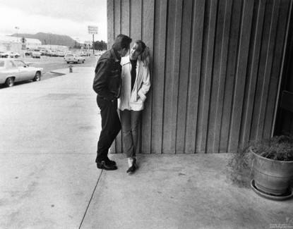 Paul Simonon and Debbie Chronic, USA - 1980