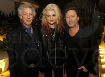 December 5 - Miami -Alison Mosshart and Julian Lennon join me for a photo before Alison and I started our guest DJ sets at the party Julian hosted for Morrison Hotel Gallery. Julian has been making some great photos and is now represented by Morrison.