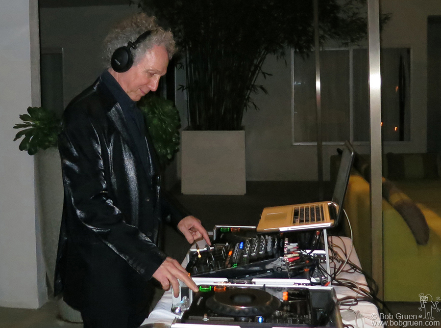 Feb 7 - Los Angeles - The Morrison Hotel Gallery opened a new store at the Sunset Marquis Hotel with a big party where I was a guest DJ!