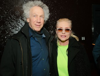 March 4th - New York - I posed for a photo with Debbie Harry at Michael Schmidt's 3D dress event at the Ace Hotel.