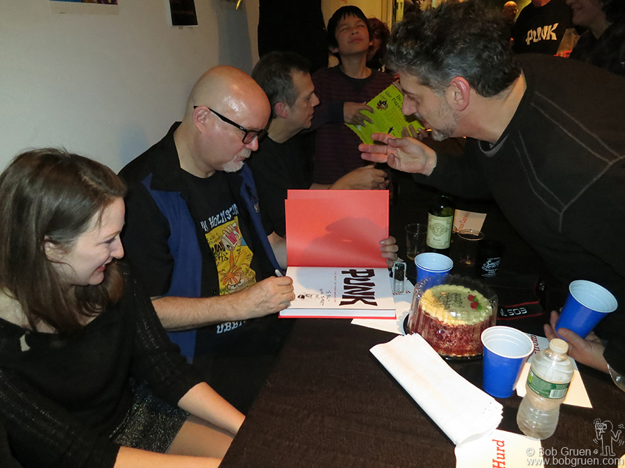Jan 11 - Brooklyn - John Holmstrom signs copies of his new hardcover compliation of Punk magazine at the Powerhouse Arena bookstore.
