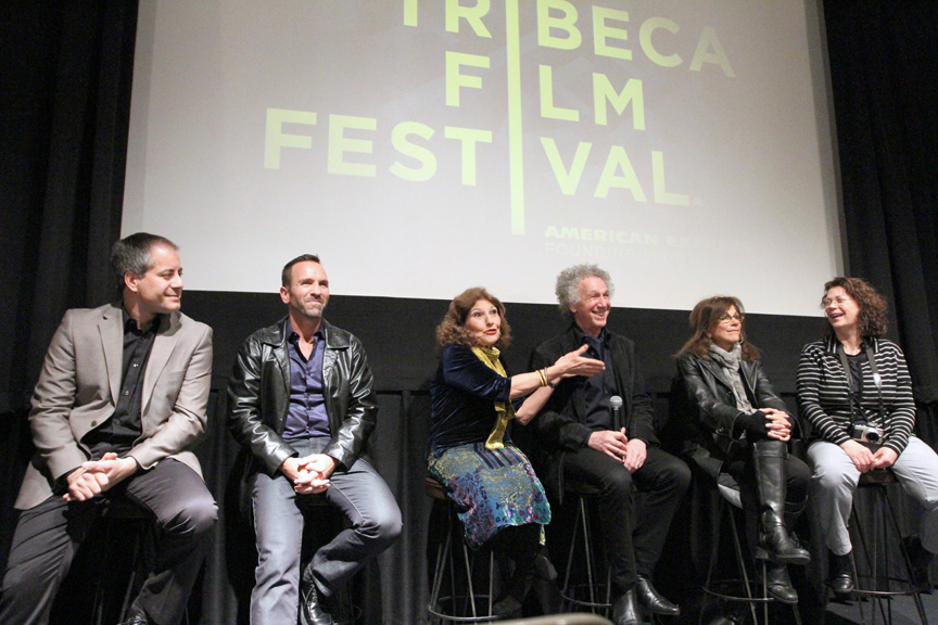 April 27 - NYC - The Tribeca Film Festival screened the film made by the Annenberg Space for Photography about the Who Shot Rock & Roll exhibition photographers. After the screening there was a Q&A with the film's director Steven Kochones, producer Joe Russo, curator Gail Buckland, and photographers, myself, Lynn Goldsmith and Jill Furmanovsky.