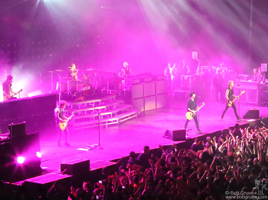 April 7 - Brooklyn - Green Day rocked out at the Barclays Center to a sold out crowd.