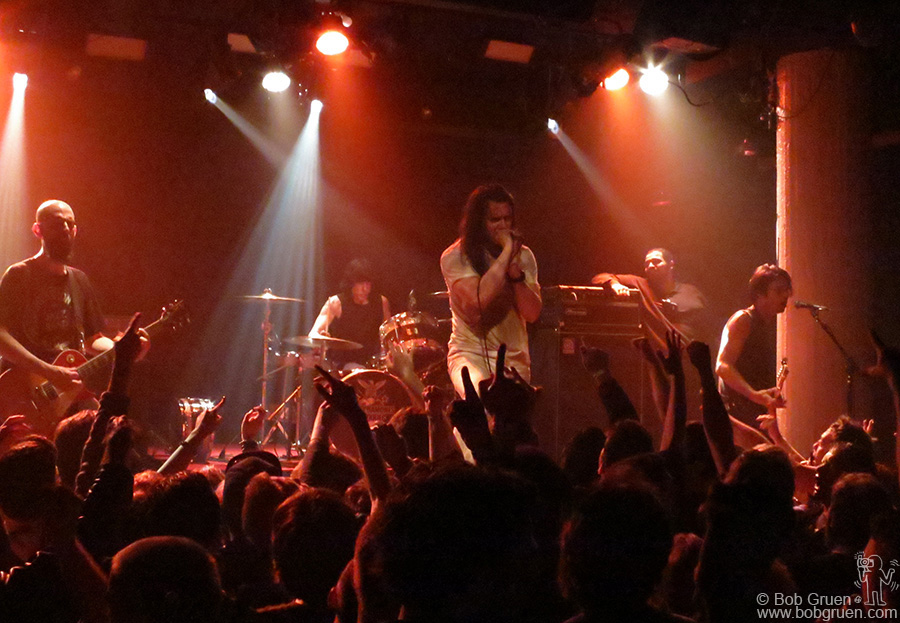 May 3 - NYC - Andrew W.K & Marky Ramone played many Ramones favorites at Santos Party House.