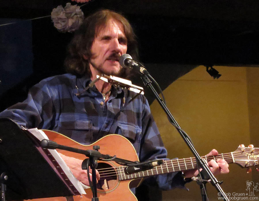 June 2 - Woodstock - Tom Pacheco brought a sentimental set of songs to the Colony Cafe.