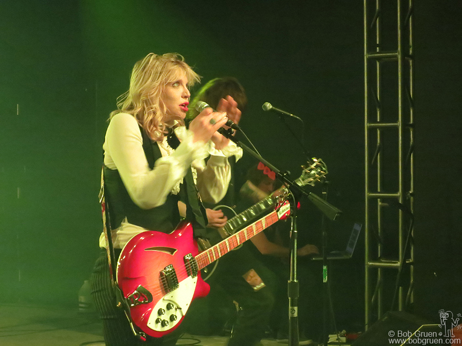 Jan 21 - Park City, UT - Courtney Love performed at the Sundance Festival. After a year off she put on an amazing show at the Star Bar.