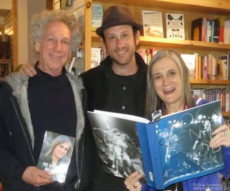 January 22 - Park City, Utah - My son Kris and I met Amy Goodwin at her booksigning at Dolly's bookstore on Main Street. I had a booksigning there as well.