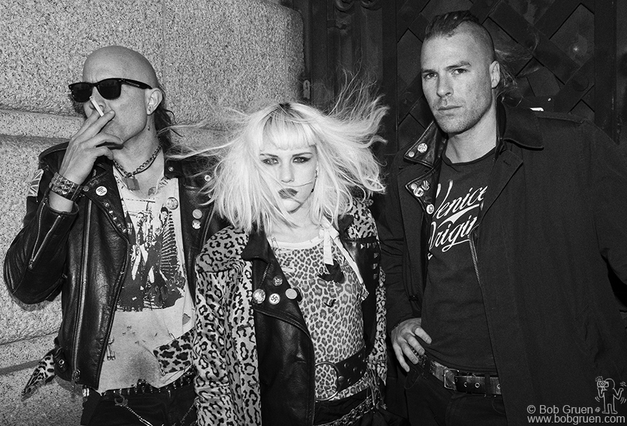 Nov 26 - NYC - the Barb Wire Dolls are a very cool punk bank from Crete, Greece, now playing around the US...check their website to see if they're playing near you!