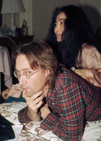 John Lennon & Yoko Ono, NYC - 1977