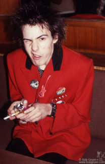Sid Vicious, Luxembourg - 1977