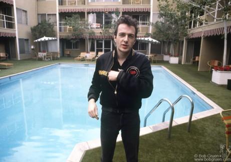 Joe Strummer, CA - 1980