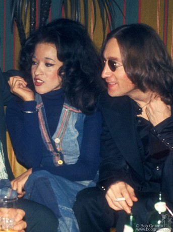 John Lennon & Ronnie Spector, NYC - 1974