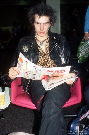 Sid Vicious, LA - 1978