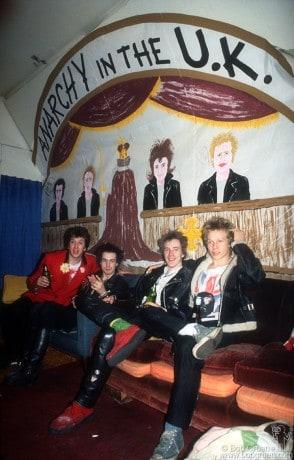 Sex Pistols, CA - 1978