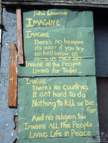 Imagine Graffiti, NYC - 1981