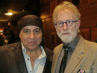 October 5 - New York City - 92Y - After a screening of the early Rolling Stones film 'Charlie is my Darling' Steven Van Zandt interviewed the film's producer Andrew Loog Oldham about Andrew's days with the Stones and the making of the film.
