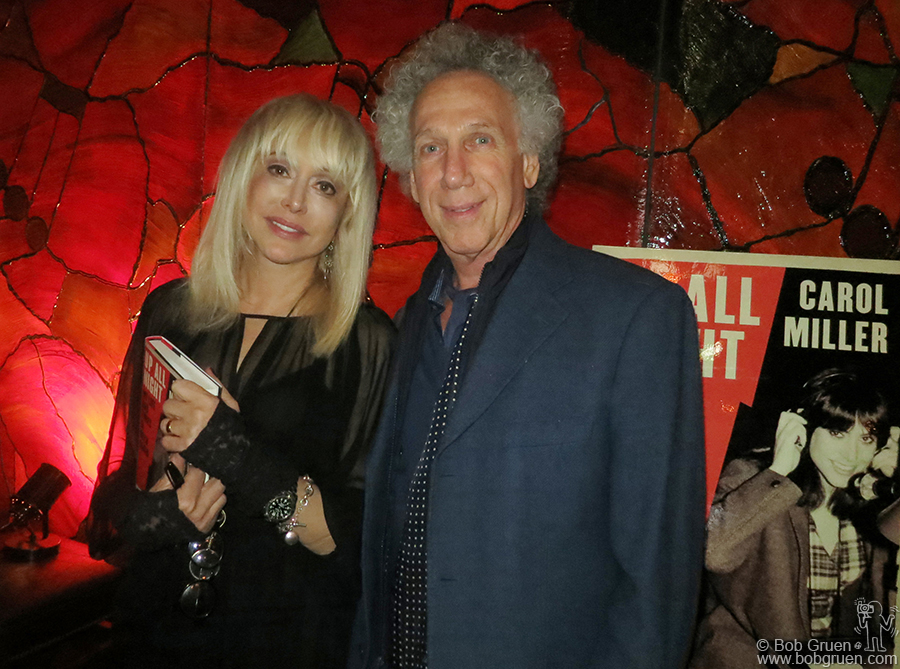 Oct 10 - NYC - Pioneering late night radio DJ Carol Miller had a party to celebrate the release of her book 'Up All Night' at the Cutting Room.