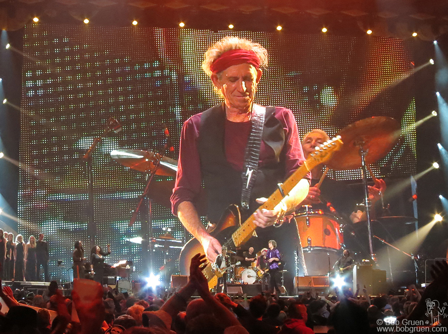 Dec 13 - Newark - The perfect end to a great year was seeing the Rolling Stones at the Prudential Center in Newark.