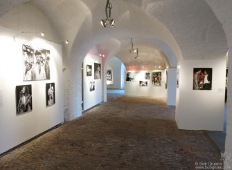June 26 - Ostende, Belgium - My exhibit was held in a 200 year old fort built by Napoleon with the photos looking very good mounted in the arched hallways. http://angels-ghosts.com