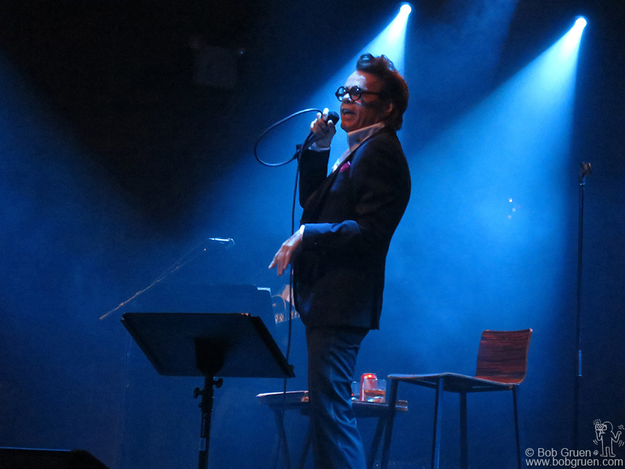 August 28 - NYC - David Johansen was as funny and heartfelt as ever as Buster Poindexter at Highline Ballroom.