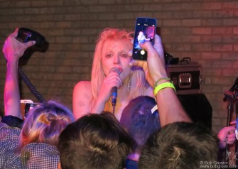 September 9 - Courtney Love's show was at a private party during fashion week at the Electric Room.