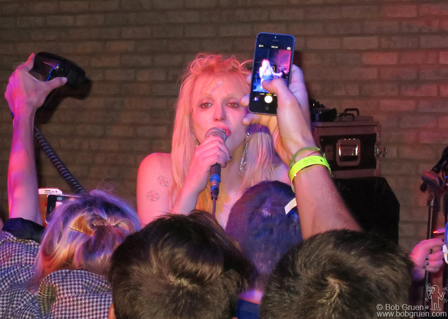 September 9 - NYC - Courtney Love's show was at a private party during fashion week at the Electric Room.