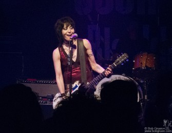 October 2 - Joan Jett played a rockin' set with new songs celebrating the release of her new album at Santos Party House.