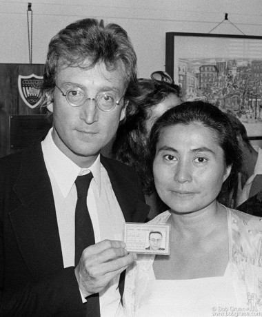John Lennon & Yoko Ono, NYC - 1976