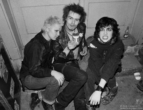 Sid Vicious & Friends, TX - 1978