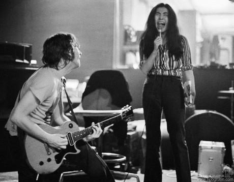 John Lennon & Yoko Ono, NYC - 1972