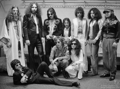 John Lennon, Yoko Ono, Elephant's Memory & Phil Spector, NYC - 1972