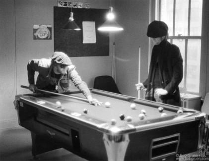 John Lennon and Harry Nilsson, NYC - 1974