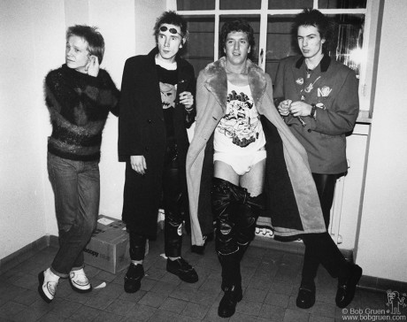 Sex Pistols, Luxembourg - 1977