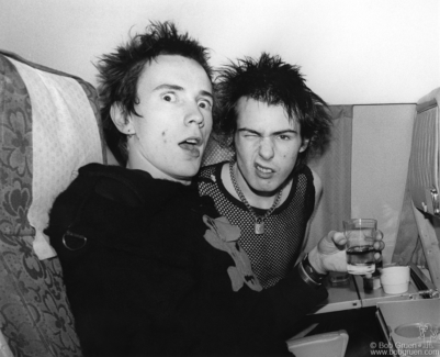 Johnny Rotten and Sid Vicious, Europe - 1977