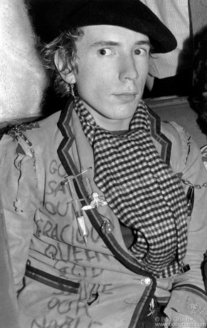 Johnny Rotten, London - 1976
