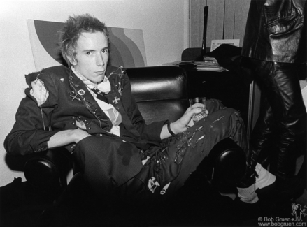 Johnny Rotten, London - 1976