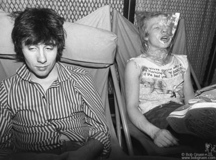 Glen Matlock and Paul Cook, London - 1976