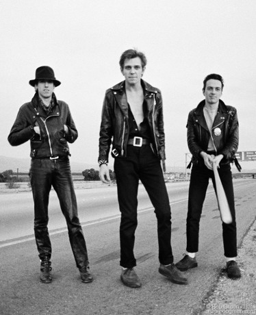 Mick Jones, Paul Simonon & Joe Strummer, USA - 1979