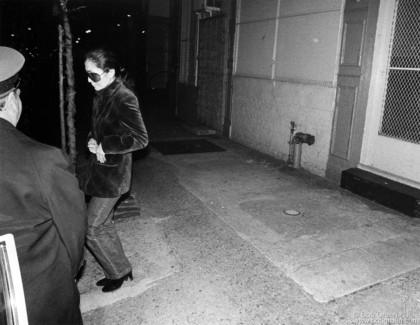 Yoko Ono, NYC - 1981