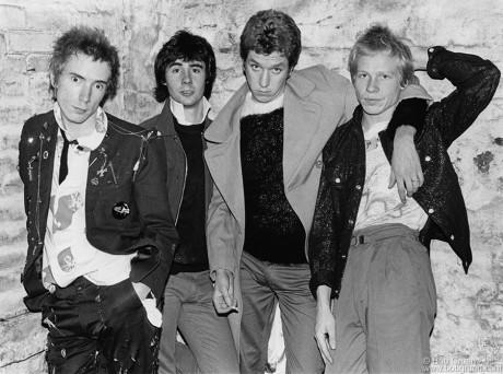 Sex Pistols, London - 1976