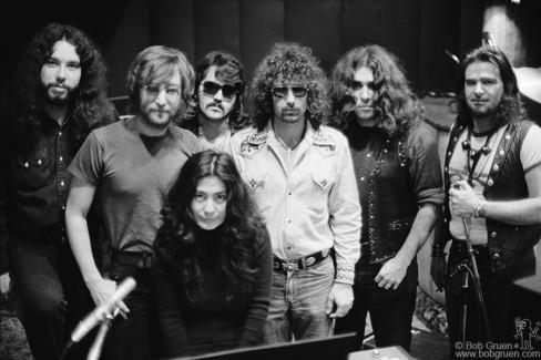 John Lennon, Yoko Ono and Elephant's Memory, NYC - 1972