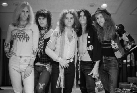 Aerosmith, NYC - 1973
