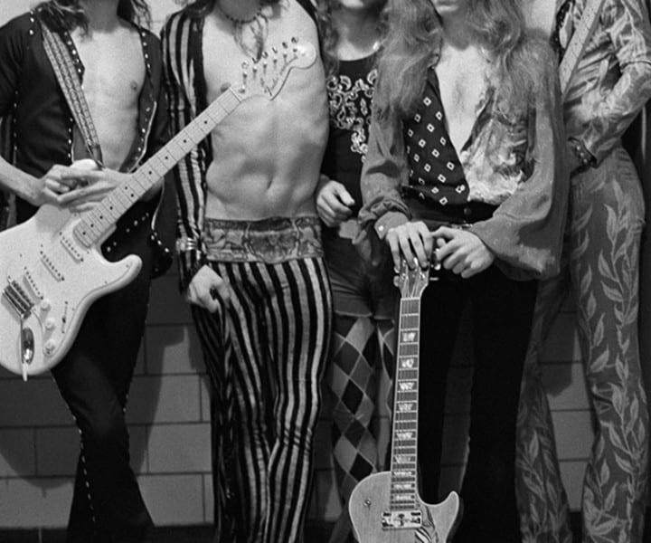 Aerosmith, Boston, MA. September 1973. <P>Image #: R-279  © Bob Gruen