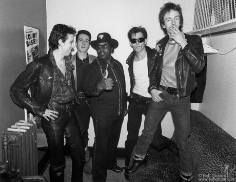 The Clash & Bo Diddley, OH - 1979
