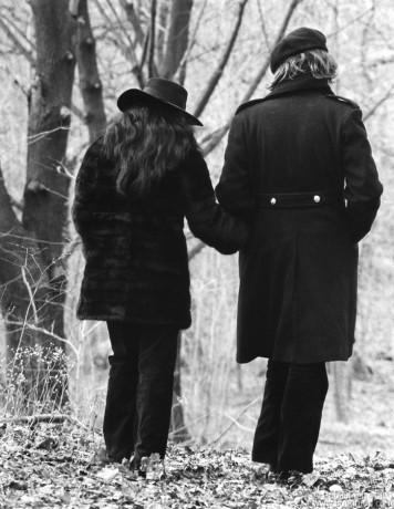 John Lennon & Yoko Ono, CT - 1973