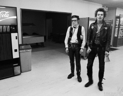 Johnny Rotten and Sid Vicious, USA - 1978