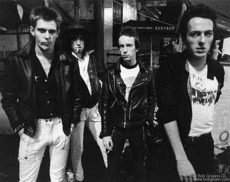 The Clash, NYC - 1978