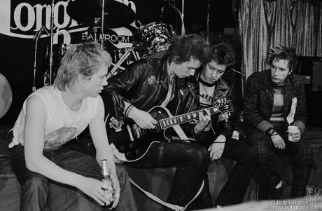 Sex Pistols, USA - 1978
