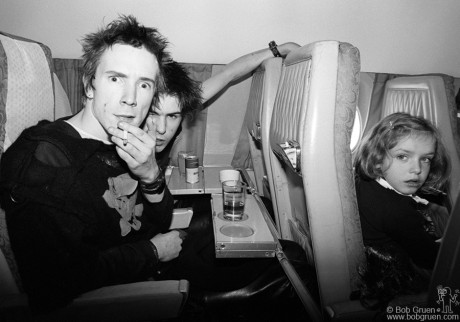 Johnny Rotten & Sid Vicious, Europe - 1977