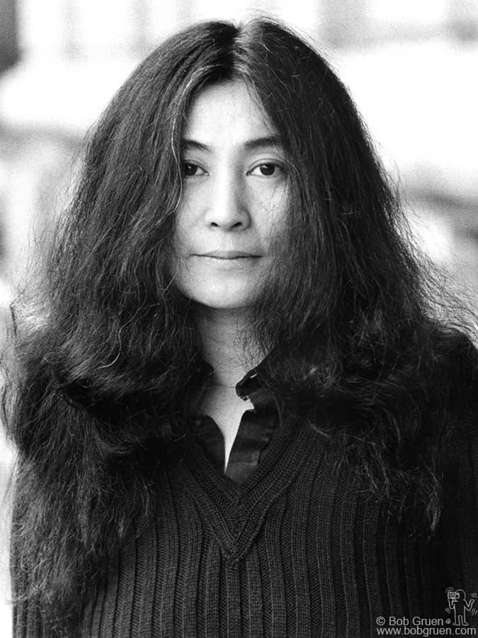 Yoko Ono  NYC - 1973
